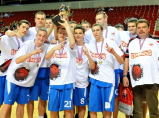 Swedbank LJBL U19 empioni  Ventspils Spars