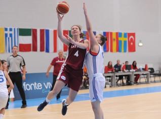 U20 sievietes: Eiropas čempionāta grupā ar Itāliju, Lietuvu un Portugāli