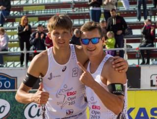 Pļaviņš/Egleskalns uzvar arī Latvijas čempionāta otrajā posmā