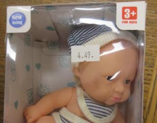 "PTAC atsauc rotaļlietu ""Lelle Cute Baby/Lovely Baby"""