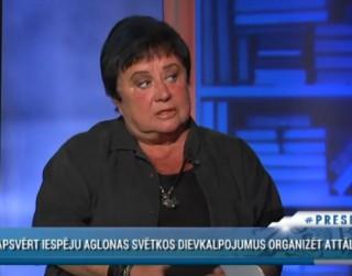 Video: Veidemane: Dievkalpojums televīzijā ir kā gumijas sieviete