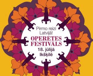 Piedalies konkursā un laimē ielūgumus uz Operetes festivāla GALĀ KONCERTU romantiskam vasaras vakaram