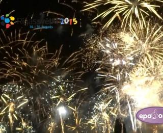 Video: Pilns Rīgas svētku 2015 salūts