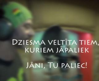 """Video: Jāņa Vaišļas atbalstam tapusi dziesma """"Tu paliec!"""""""