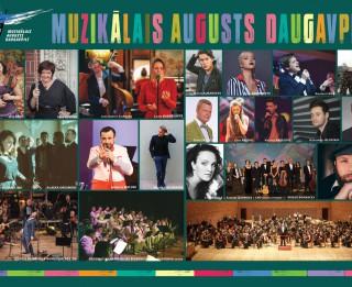 """Augusts Daugavpilī ienāks ar """"Muzikālā augusta"""" pasākumiem"""