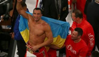 Foto: Vladimirs Kļičko triumfē Ņujorkā
