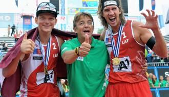 Foto: Samoilovs un Šmēdiņš iegūst Eiropas čempionāta zeltu