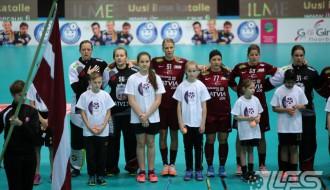 Foto: Mūsu meitenes uzvar vācietes un nosargā 5.vietu pasaulē