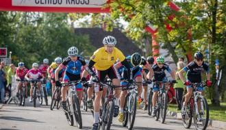 """Foto: Latvijas labākie jaunie riteņbraucēji Smiltenē noslēdz """"Baltais Cerību kauss"""" sezonu"""