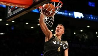"""Porziņģis: """"Latvijai manas gaitas NBA nozīmē daudz"""""""