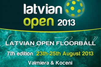 Septto reizi aicina florbola turnrs &quot;Latvian Open&quot;