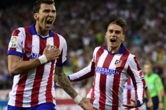 """""""Atletico"""" nokārto formalitāti - tikšanos ar Madrides """"Real"""" 1/8 finālā"""