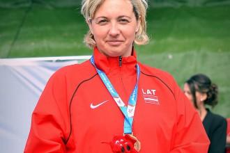 Paralimpietei Priedei bronza Eiropas čempionātā diska mešanā