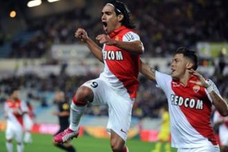 """Falkao vienīgie vārti, """"Monaco"""" smagā galotnē notur pirmo uzvaru"""