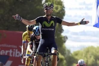 """Valverde atgūst vadību """"Vuelta a Espana"""" kopvērtējumā"""
