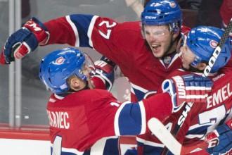 """""""Canadiens"""" pagarinājumā pieveic """"Red Wings"""", """"Bruins"""" uzvar """"Sharks"""""""