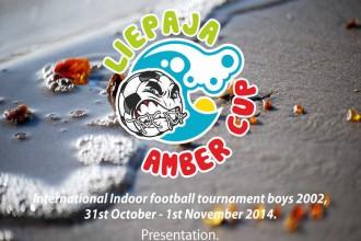 """Norisināsies """"Liepāja Amber Cup"""" turnīrs jauniešiem telpu futbolā"""