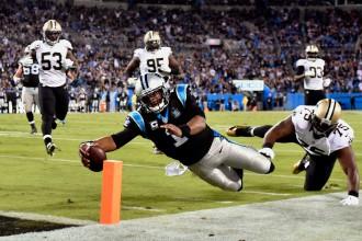 """""""Panthers"""" piedzīvo zaudējumu pret """"Saints"""""""