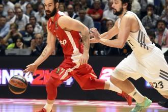 """Spanuļa 34 punkti izglābj """"Olympiacos"""" no zaudējuma Klaipēdā"""