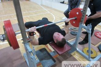 Bauskā Latvijas Kausa 1.posms pauerliftingā