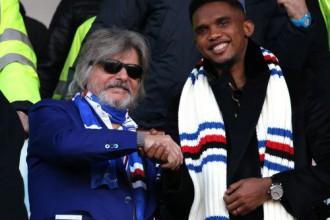 """Oficiāli: Eto'o pievienojas Itālijas """"Sampdoria"""""""