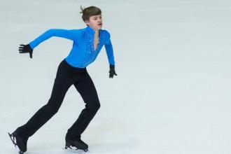 Daiļslidotājs Vasiļjevs izcīna sudrabu Eiropas Jaunatnes olimpiādē