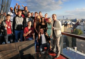 Foto: Tiek sveikti U-16 Eiropas sudraba laureāti