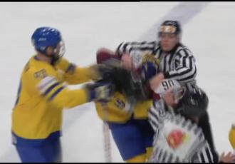 Video: Latvija čempionātu noslēdz ar zaudējumu Zviedrijai