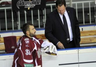 """Video: Rīgas """"Dinamo"""" pēc piecu gadu pārtraukuma Toljati atgriežas ar zaudējumu"""