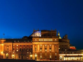 Unikāls restorāns uz Zviedrijas Karaliskā Operas nama jumta