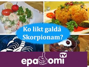 Video: Astroloģiskā virtuve. Ko likt galdā Skorpionam?