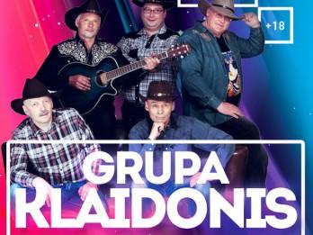Laimē 6 ielūgumus uz grupas KLAIDONIS koncertu 9.oktobrī