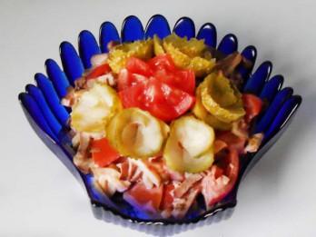 Pikantie sirds salāti
