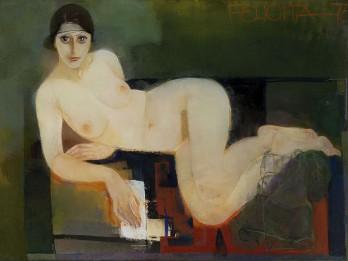 """Felicita Pauļuka (1925–2014). Pasteļi un zīmējumi Izstāde ciklā """"Paaudze"""""""