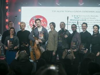 Tirdzniecības parkā Alfa sācies balsojums par gada populārāko dziesmu