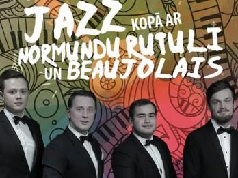 30to - 60to gadu Jazz vakars kopā ar Normundu Rutuli un Beaujolais