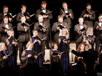 """Koris """"LATVIJA"""" izdziedās 18 Latvijas komponistu pirmatskaņojumus"""