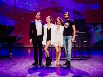 """Pēdējais Latvijas džeza teātra izrādes """"Pēc pusnakts / After Midnight"""" šovs"""