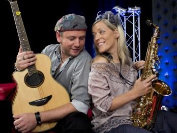 """Latviešu – franču duets """"Viņš un Viņa"""" ielūdz uz Aperitīva koncertu"""