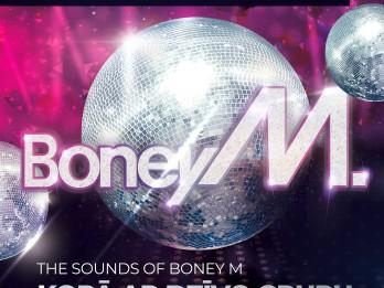 Ar iespaidīgu šovu Rīgā atgriežas disko mūzikas ikona - grupa BONEY M