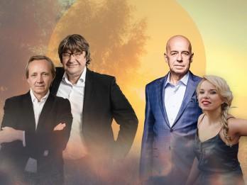 """Jānis Lūsēns un Mārtiņš Brauns satiksies noskaņu koncertā  """"Saulrieta dziesmas"""""""