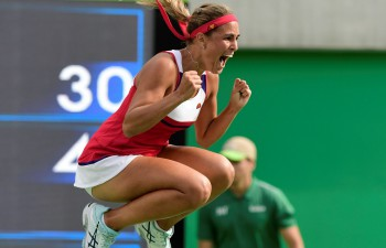 Puiga raksta Puertoriko olimpisko vēsturi, iekļūstot tenisa turnīra finālā