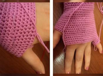 Padomi, kā uzadīt pirkstaiņus (pirkstaini cimdi)