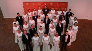 """Jauktais koris """"INTIS"""" aicina uz 30 gadu jubilejas koncertu  Liepājas koncertzālē """"Lielais dzintars"""""""