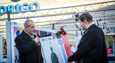 """Atklāta Latvijas simtgadei veltītā izstāde """"PUBLISKIE SPOGUĻI. Plakāti 1834–2017"""""""