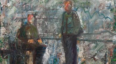 """Būs skatāma gleznotāja Anša Butnora personālizstāde """"Zemes sāls""""."""