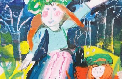 Džemmas Skulmes personālizstādes <i>Viela un forma</i>. <i>Patoss un rezignācija</i> atklāšana Daugavpils Marka Rotko mākslas centrā