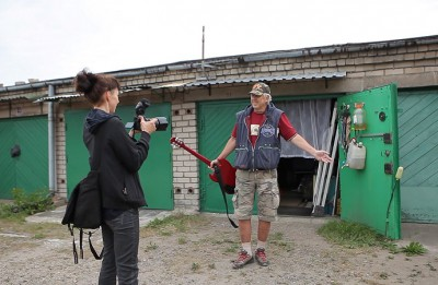 Katrīna Neiburga debitē ar dokumentālu īsfilmu