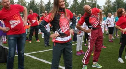 Olimpiskā diena Latvijā pulcē vairāk nekā 100 tūkstošus dalībnieku