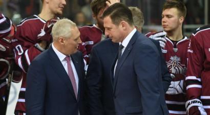 """Savickis apsola """"Dinamo"""" dalību KHL arī turpmāk, par treneri vēl nerunā"""